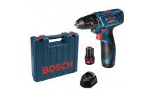 Шуруповерт аккумуляторный Bosch GSR 120-LI Professional 06019F7001
