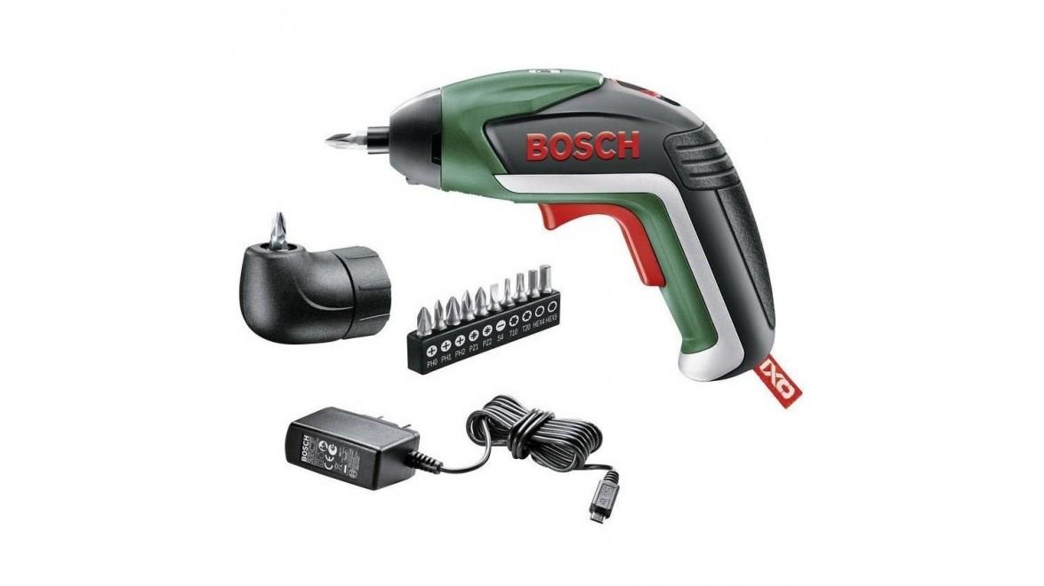 Отвёртка аккумуляторная Bosch IXO 06039A8020