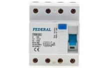 Автомат Federal 4P 25A 300mA FK 30-325