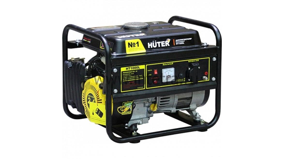 Электрогенератор бензиновый huter ht1000l 1 квт