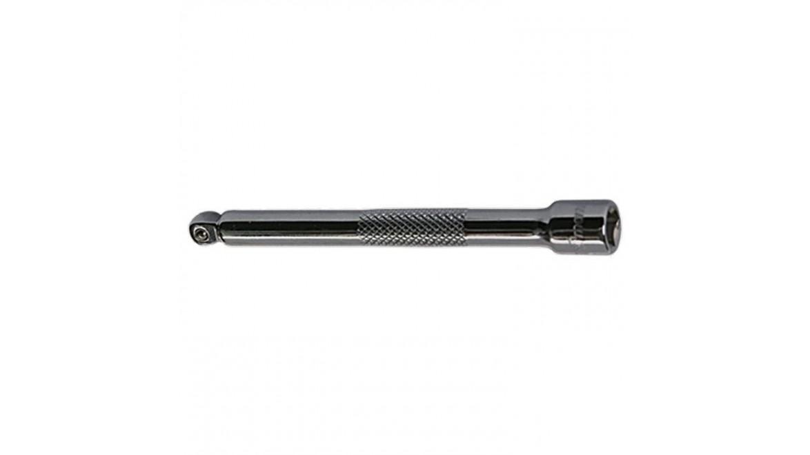 """Удлинитель, 75 мм, 3/8"""", CrV, полированный хром, для работ в труднодост. местах MATRIX MASTER 13971"""