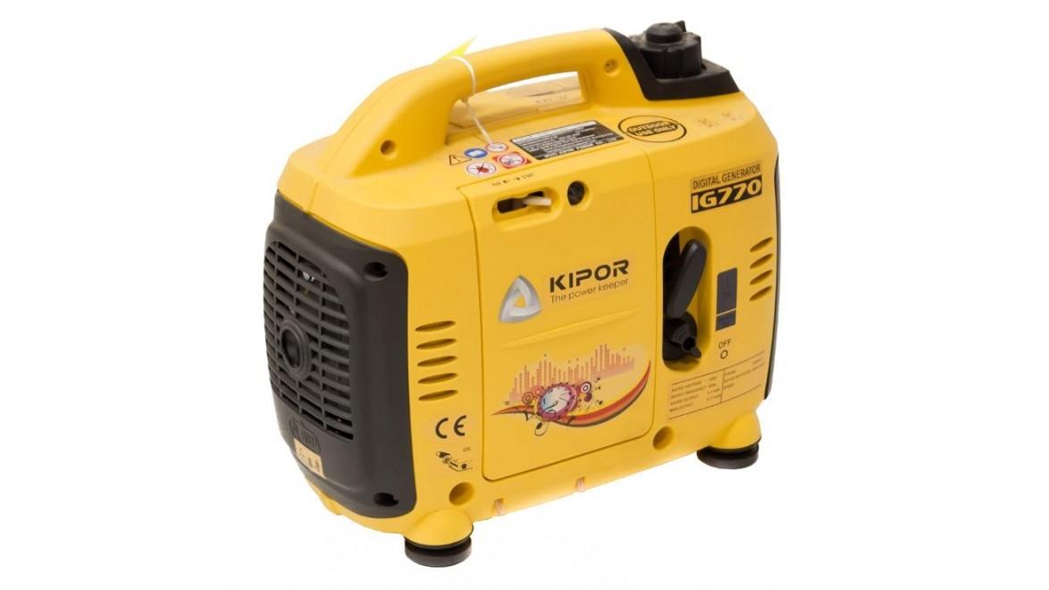 Цифровой бензиновый генератор kipor ig770