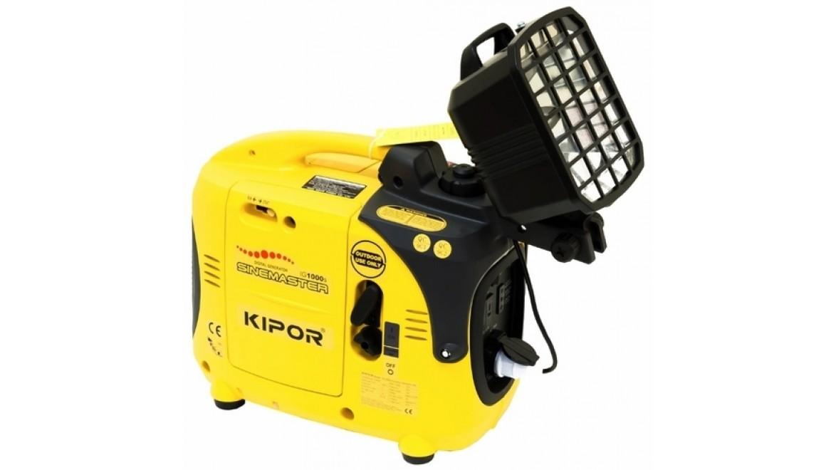 Цифровой бензиновый генератор kipor ig1000s