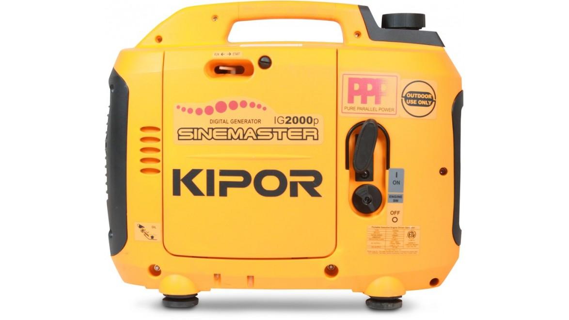 Цифровой бензиновый генератор kipor ig2000p