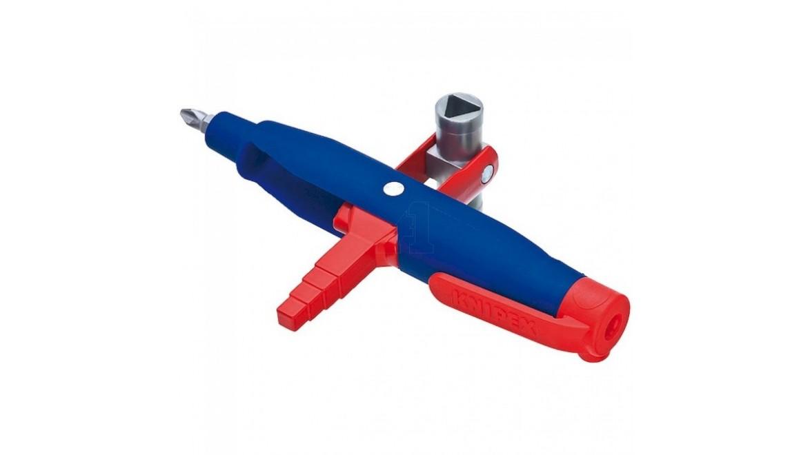 Штифтовый ключ для электрошкафов KNIPEX 145 мм 00 11 08