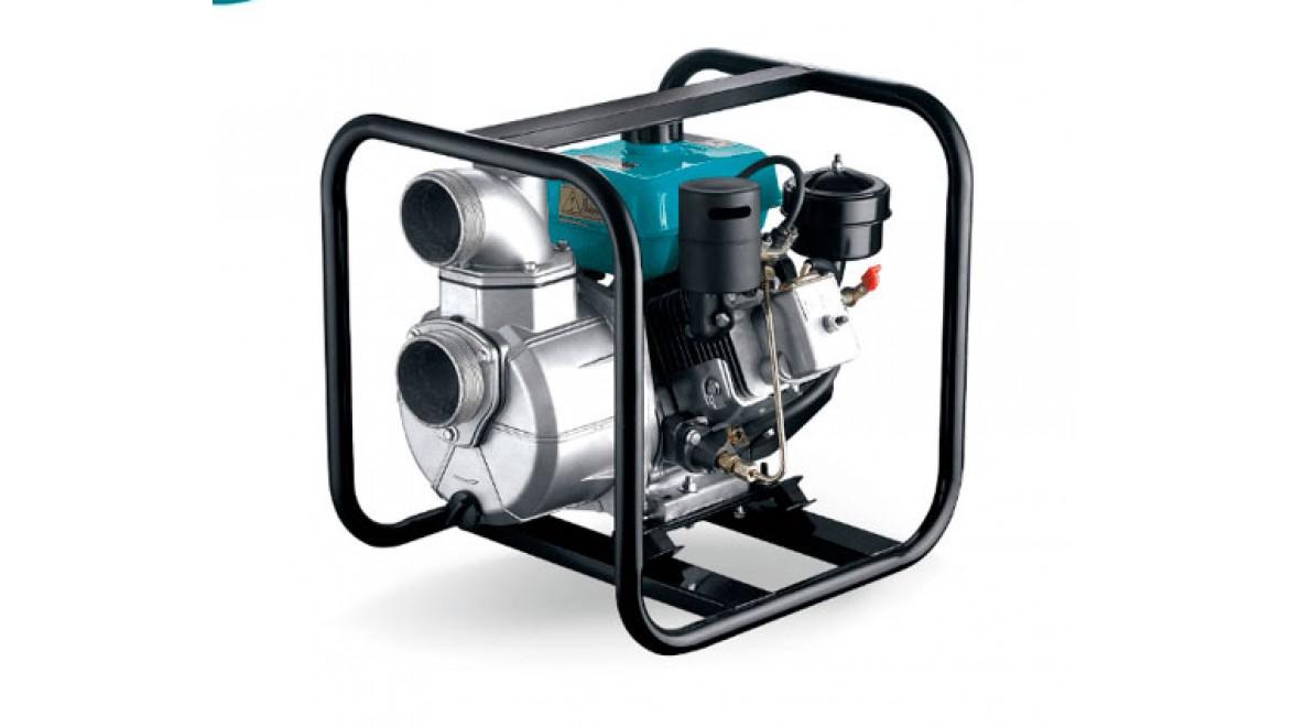 Мотопомпа бензиновая lgp 30-w leo 80 мм, max 25 м, 50000 л/час