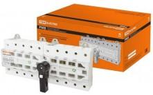 TDM Рубильник модульный с видимым разрывом, реверсивный РМВ-100 4П 100A