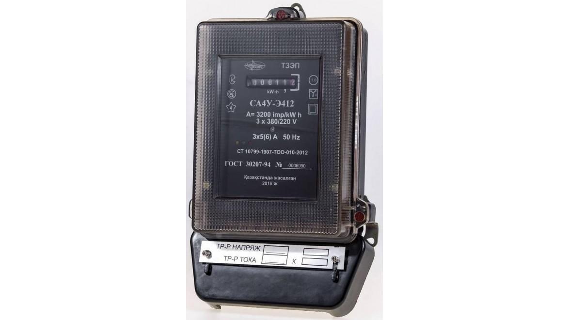 Счетчик СА4У-Э412 50А(Азия Электрик)<br />