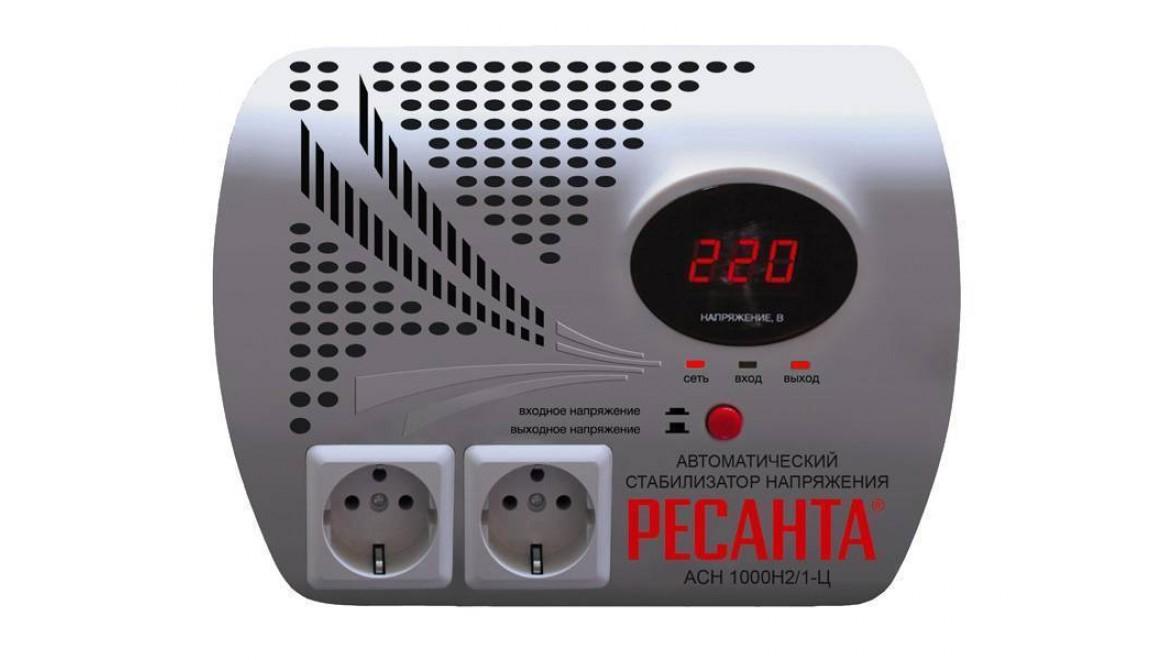 Стабилизатор 1000/1 АСН Ц (НАСТЕННЫЙ) Ресанта