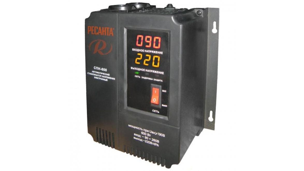 Стабилизатор 600-СПН (900Вт) Ресанта