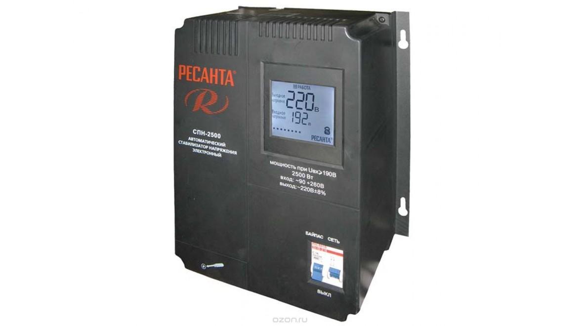 Стабилизатор 2500-СПН Ресанта