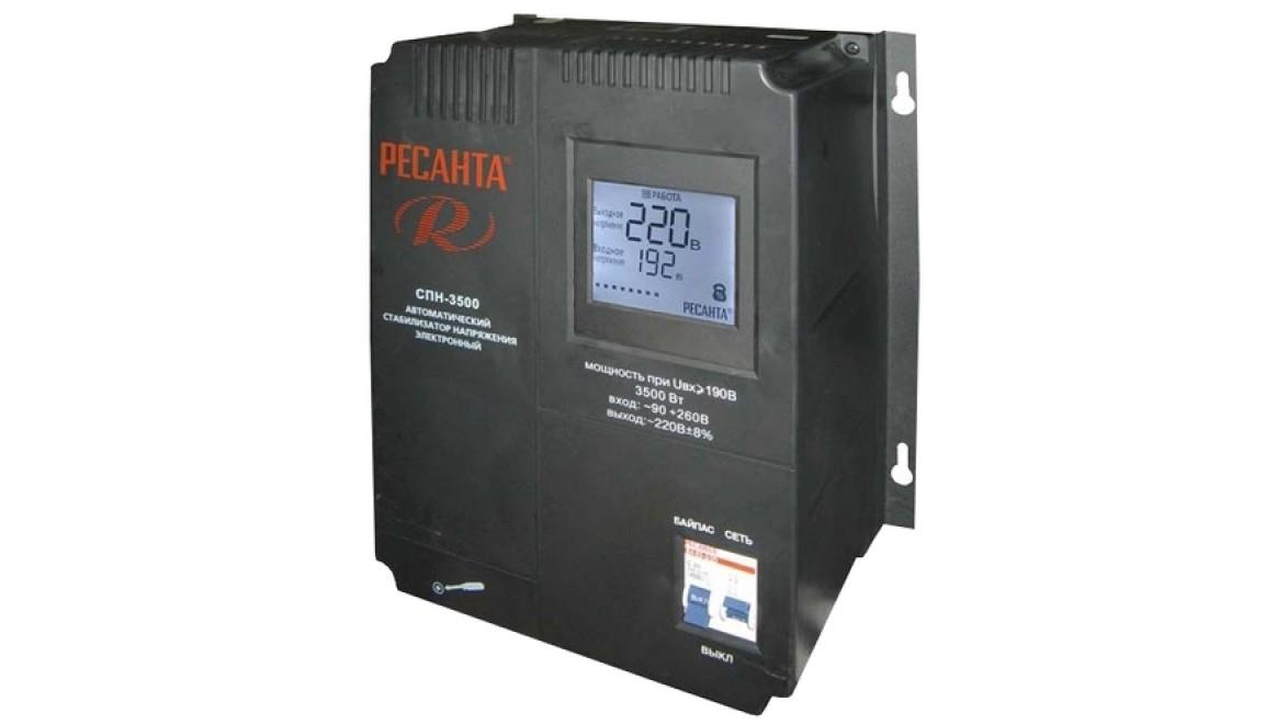 Стабилизатор 3500-СПН Ресанта