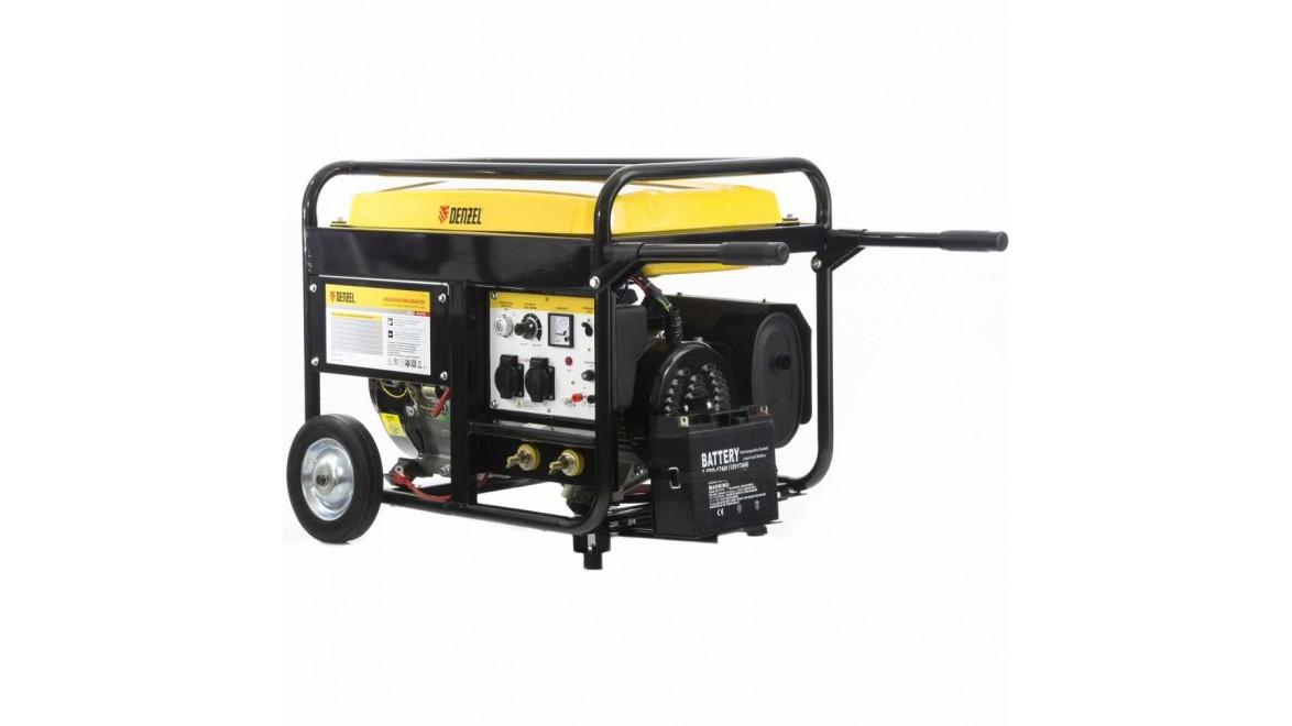 Бензиновый сварочный генератор WG 210Е DENZEL 94653