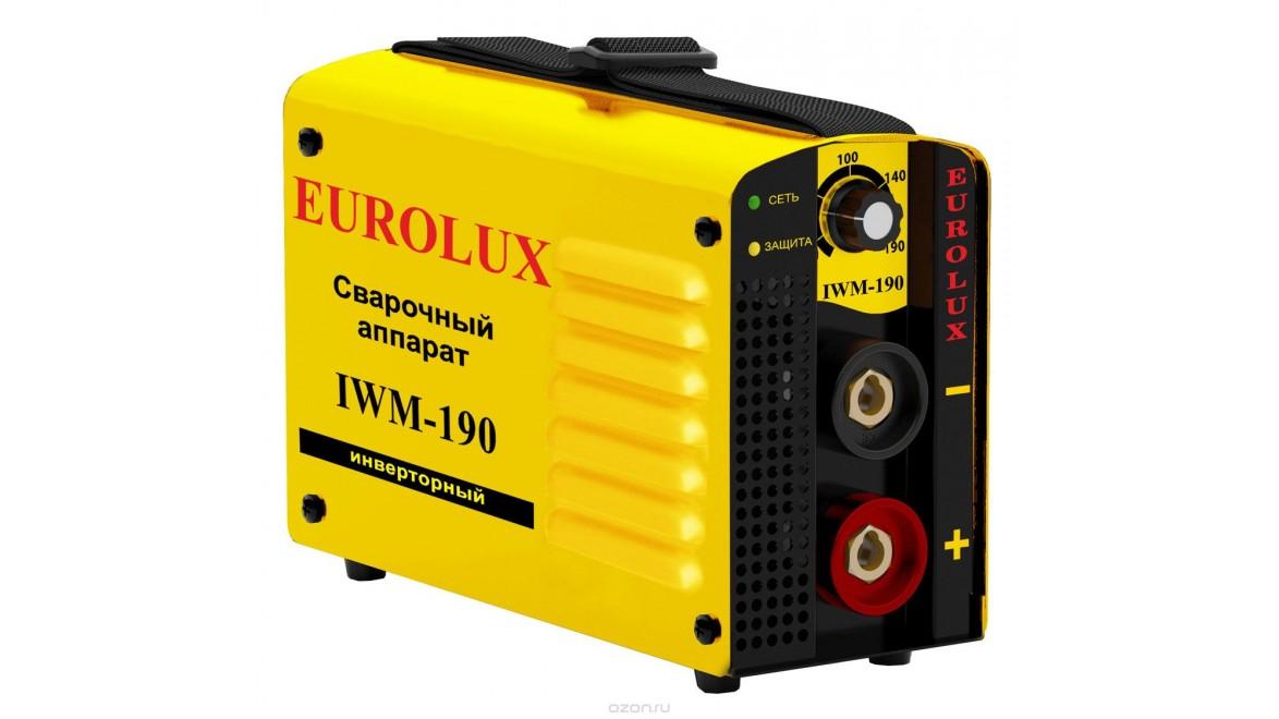 Инверторный сварочный аппарат iwm 190 eurolux