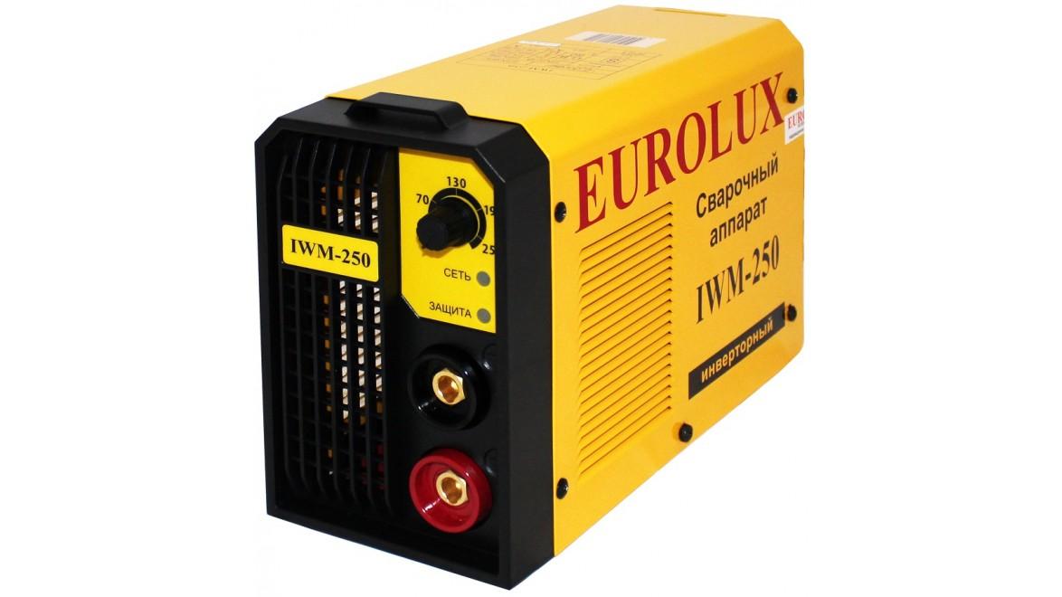 Инверторный сварочный аппарат iwm 250 eurolux